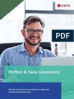 Perfion PIM & Sana Commerce får din netbutik til at bugne med værdifuld produktinformation.
