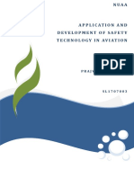 Application and Development of Safety Technology in Aviation