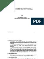 METODE PENELITIAN SOSIAL1