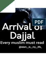 Arrval of Dajjal MUST READ