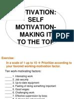 Motivation for Peak Perfomance