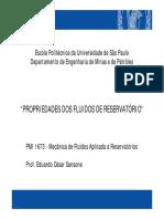 Propriedades Dos Fluidos de Reservatório - USP