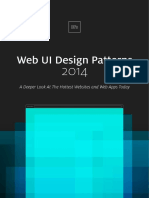 Uxpin Web Ui Design Patterns 2014