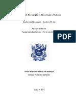 Relatório de Intervenção St.ª Ana e s. Joaquim Com Anexos