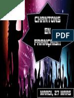 Cançons en Frances