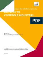 44REG SUJ 19-Controle Industriel