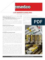 Emedco Pipe Marking Guidelines