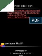 Womens Health 2012