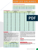 Table Salaires