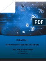 Unidad 1 Fundamentos de Ingenieria de Software