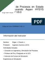 00 - Simulación de Procesos en Estado Dinámico Usando Aspen HYSYS Dynamics V9.0