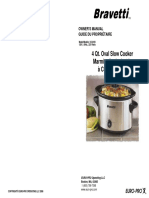 Bravetti Slow Cooker Kc241b User Manual