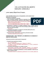 VENEZUELA Analisis de La Siruación Con Autores