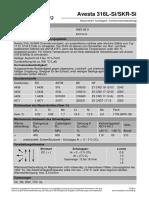 A Avesta 316L-Si SKR-Si de de 5