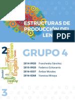 Estructuras de Producción del Lenguaje