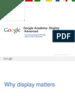 Google Academy - Publicidad Display