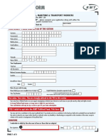 RMT Membership Form 2018