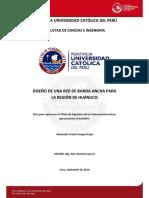 Pasquel Alexander Diseño Red Banda Ancha Region Huanuco