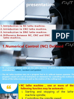 comparison between NC,CNC & DNC lathe machines