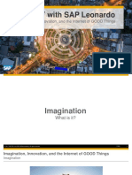 OpenSAP Iot3 Week 01 Unit 02 Imagination Presentation