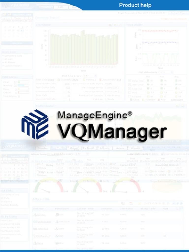 vqmanager   Session Initiation Protocol   Voice Over Ip