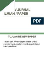 Review Jurnal Ilmiah