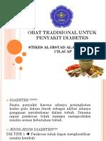 Obat Tradisional Untuk Penyakit Diabetes