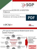 PPT - PNMGP - 2014 - Presentación de La Política