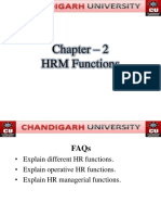 2. HRM Functions
