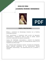 1. Hoja de Vida Nathalia Moreno