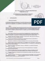 SEGUIMIENTO Y EVALUACION DE LA GESTION PRESUPUESTARIA I TRIMESTRE 2016.pdf