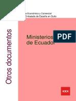Ministerios Ecuador