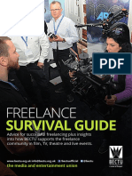Bectu Freelance Survival Guide 8pp Aug17 2