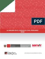 Informe La Mujer en El Servicio Civil Peruano 2018