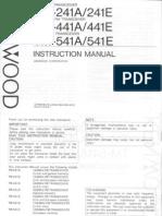 TM 241A Manual