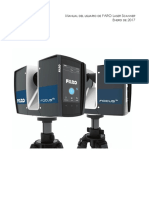 E1669(B) FARO Laser Scanner Focus Manual ES