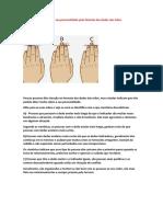 Poucas Pessoas Dão Atenção Ao Formato Dos Dedos Das Mãos