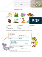 Easter Worksheet
