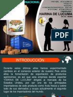 Exportacion Harina de Lucuma