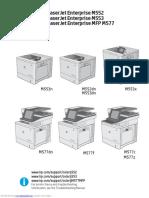 Hp Color Laserjet Enterprise m553 Repair Manual