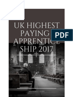 UK Highest Paid Apprenticeshipa
