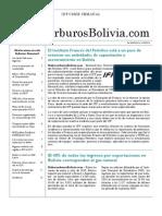 Hidrocarburos Bolivia Informe Semanal Del 6 Al 12 Septiembre 2010