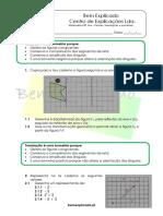 1 - Vetores, Translações e Isometrias - Teste Diagóstico (1)