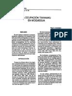 Goldstein - La Ocupación Tiwanaku en Moquegua