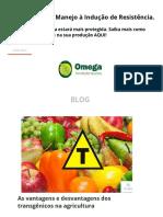 As Vantagens e Desvantagens Dos Transgênicos Na Agricultura - Omega