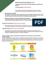 Trabalho 01 - Guia Alimentar Da População Brasileira 2014