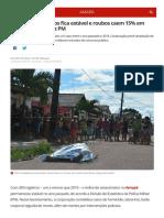 Numero de Roubos Por Bairro - 02-2018