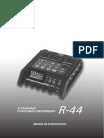 Grabadora ROLAND R-44