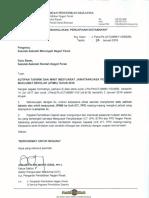 Surat Kutipan Takwim Dan Minit Mesyuarat JPIMS 2018