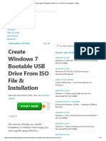 Create Windows 7 Bootable USB Drive From ISO File & Installation - Softlay